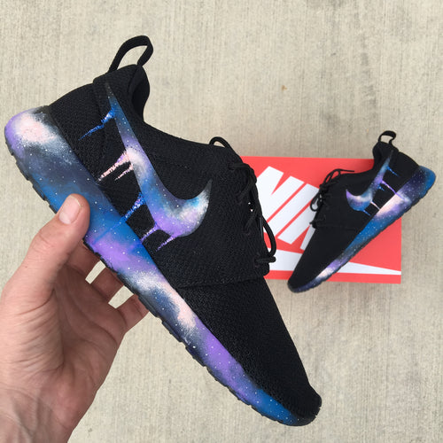 Custom Painted Nike Roshe One Galaxy