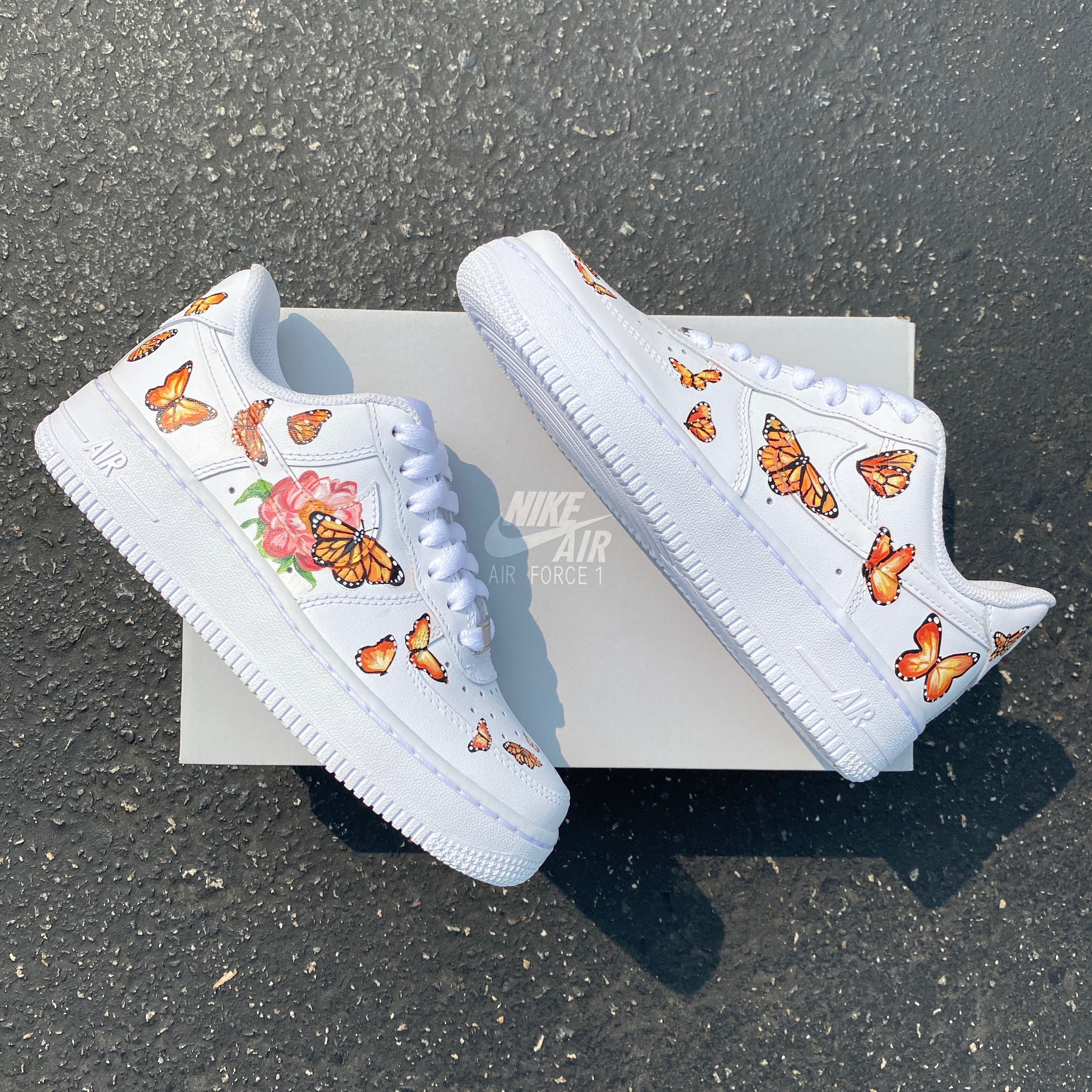 nike air force butterfly shoes