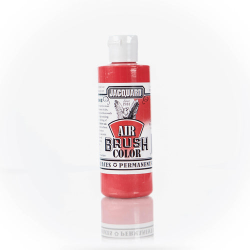 Metallic Red Jacquard Airbrush Paint