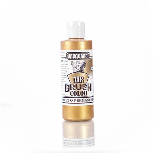 Metallic Solar Gold Jacquard Airbrush Paint