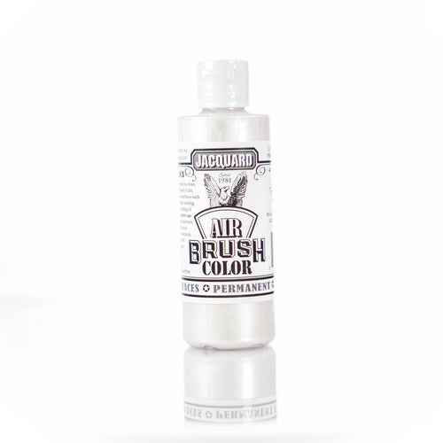 Metallic White Jacquard Airbrush Paint
