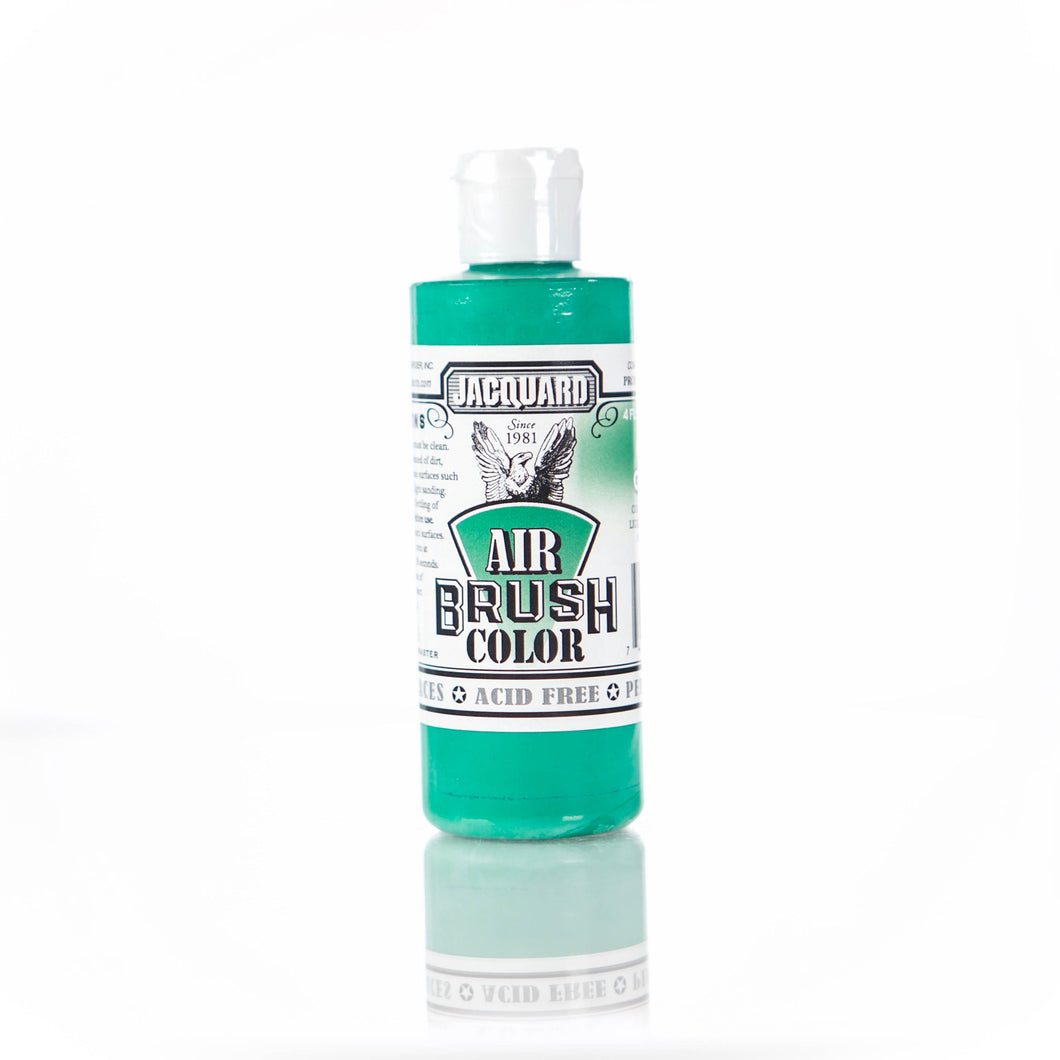Opaque Green Jacquard Airbrush Paint