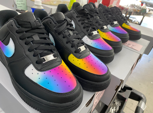 Copy of US Women's size 8.5 Black Nike AF1 (EU 40) Custom Order - Sylvia Galfo Invoice 2