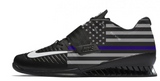 US Men's size 13 Nike Romaleos 3 Thin Blue Line Law Enforcement Theme - Custom Order