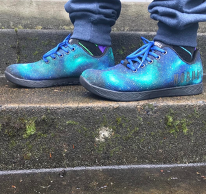 Custom Painted Galaxy NOBULL Trainers