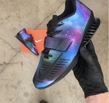 Super Nova Galaxy Nike Romaleos 3- Hand Painted