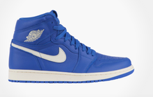 US Men's Size 10.5 Jordan Retro 1 Mid's- Custom Blue Galaxy Space Theme Payment 2 of 2- Custom Order