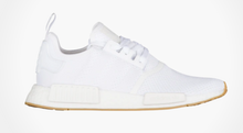 US Women's Size 8.5 All White Adidas NMD- Bisexual Flag- Custom Order