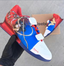 US Women's Size 7.5 Reebok Legacy Lifters- Wonder Woman- Custom Order- Payment 1 of 2