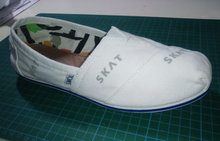 6 Pairs of Custom Toms- SKAT Theme- Custom Order