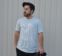 B Street T-Shirt- Light Blue W/ White B Street Logo- LIMITED QUANTITY & SIZING