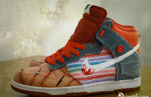 3 Pairs of White Nike Jordan 1 Mid's- Chucky Theme- Custom Order-Payment 1 of 4