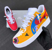 Custom Hand Painted Nike Air Force 1- Mac Miller Theme- Custom Order