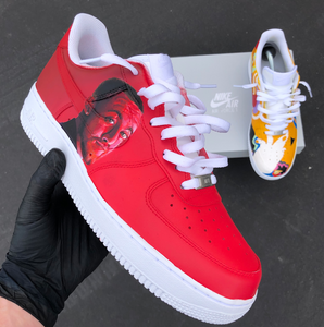 wholesale dealer f8e44 05379 Custom Hand Painted Mac Miller Air Force 1 s - Limited Number