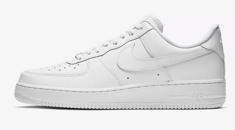 US Men's Size 12 White Nike Air Force 1- Memorial Theme- Custom Order- Payment 1 of 2