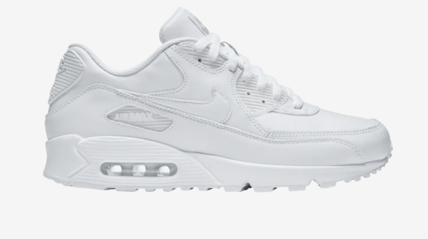all white air max 90