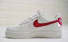 US Men's Size 11.5 White Nike Air Force 1- Harvard Basketball Theme- Custom Order