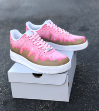 Pink Frosting Sprinkle Donut Nike Air Force 1's