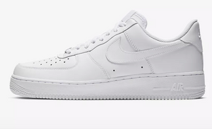 US Women's Size 6.5 White Nike Air Force 1- Purple Louis Vuitton Theme- Custom Order- Payment 1 of 2