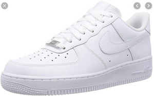US Men's size 8 AF1 Low white - Shark Theme - Custom Order - Invoice 1 of 2