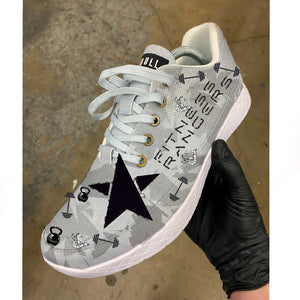 Custom Fitness Rangers Theme NOBULL Shoes - Custom Order - Invoice 1 of 2