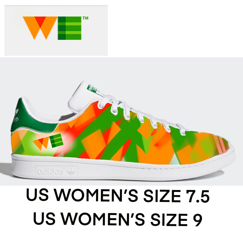 designer fashion 8bfad c38dc 2 Pairs of Custom Adidas Stan Smith Sneakers - US Women's size 7.5 &  Women's 9 - Custom Order
