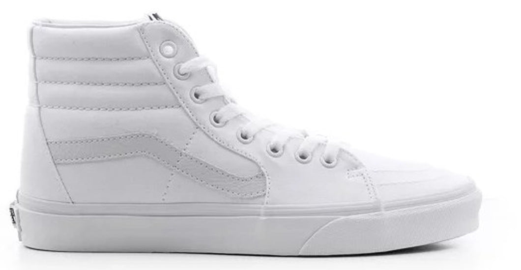 White Vans Sk8 Hi - Mens 13 - Custom Order - Invoice 1 of 2