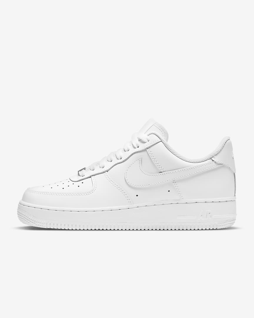 White Nike Af1 low - 11 womens - custom order - Invoice 1 of 2