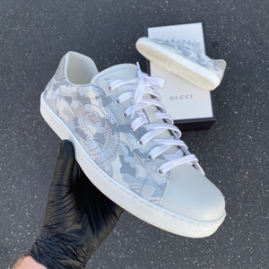 Custom Painted Gucci Sneakers - Custom Order