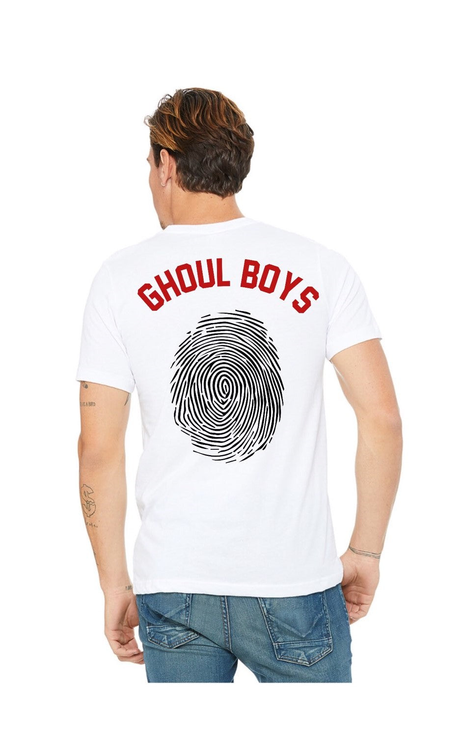 Ghoul Boys White Jersey