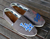 LA Dodgers TOMS Shoes