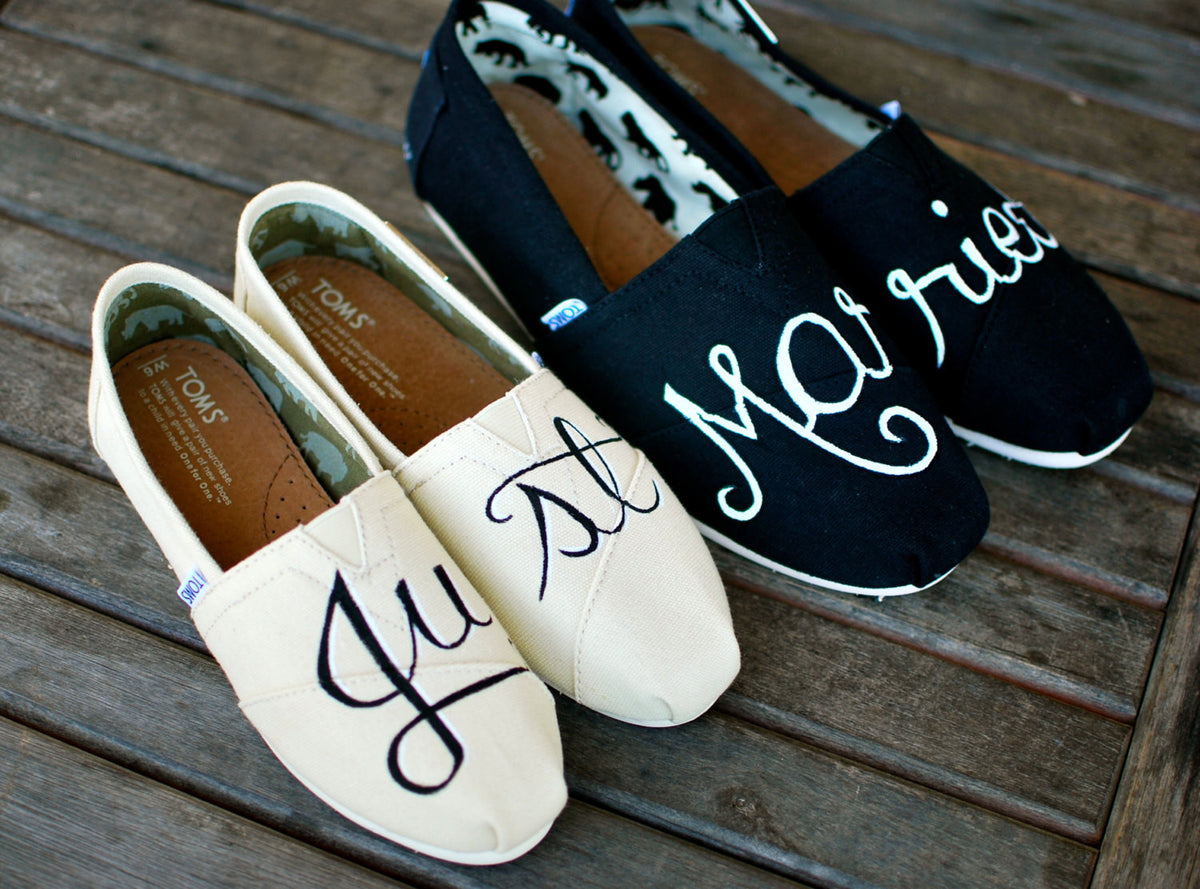Hand Painted Toms Shoes For Sale