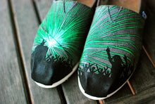 DJ Party Rave Toms - Hand Painted Music Festival shoes - B Street Shoes