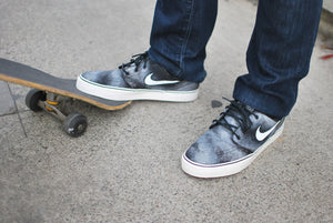 Hand Painted Smoke Nike Stefan Janoski skate shoes