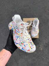 Custom Paint Splattered Adidas Yeezy's