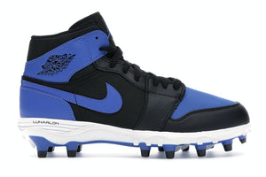 Jordan 1 retro mid football cleats - custom order - mens 12.5 - invoice 1 of 2