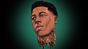 NBA Youngboy - Custom Order - Invoice 1 of 2