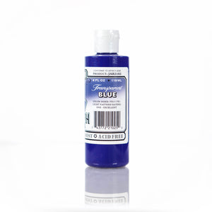 Transparent Blue Jacquard Airbrush Paint