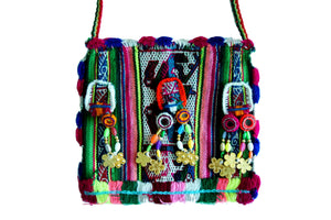 Bohemian Bag - Boho Shoulder Bag - Ethnic Bag - Bolivia Bag