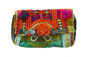 Banjara Peach Bag