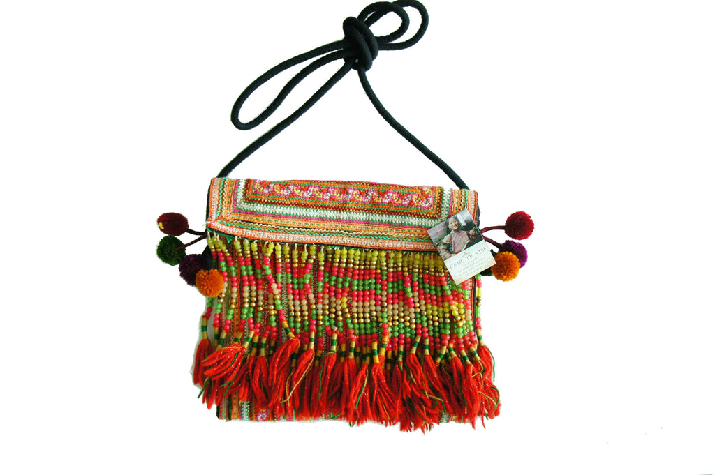 Hmong Bag - Thailand Shoulder Bag