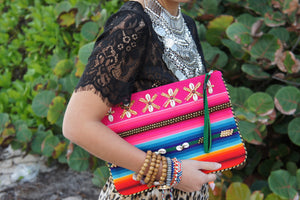 Flower Aguayo bag