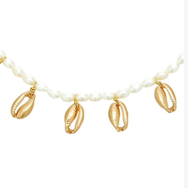 Freshwater Shell Necklace