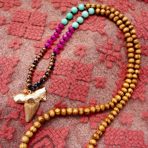 Dibadani Shark Tooth Necklace
