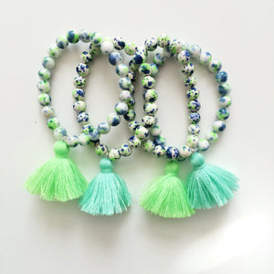 Summer breeze tassel bracelet