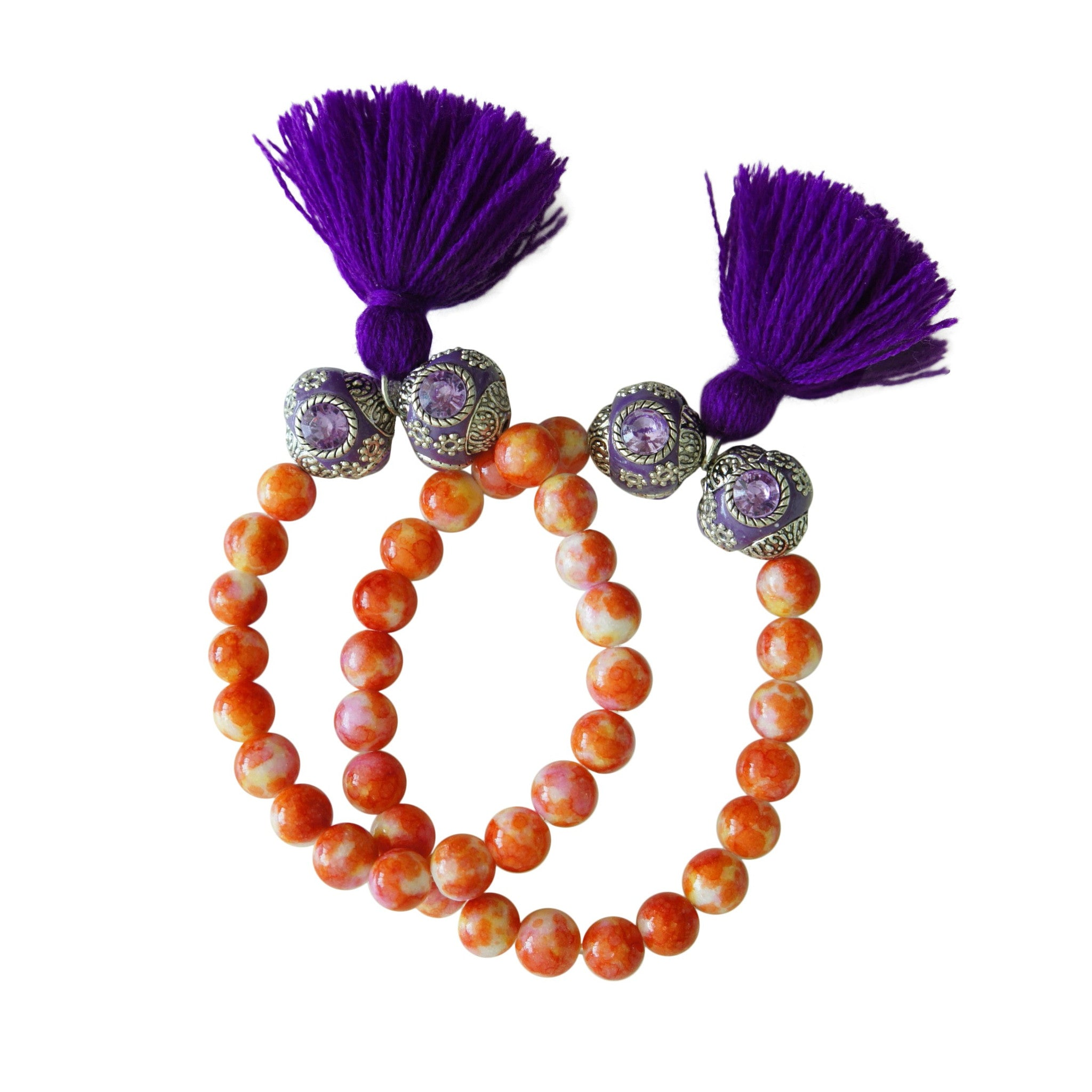 Orange Sunrise Bracelet