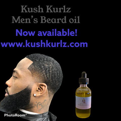 Men's Beard oil - kush kurlz