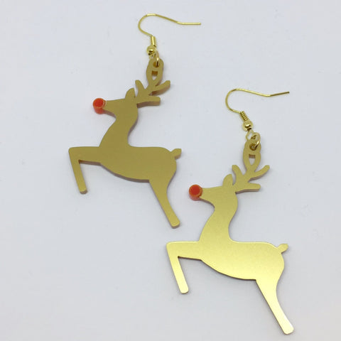 Reindeer earrings
