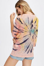 Load image into Gallery viewer, Colorful Tie Dye Dolman Knit Top