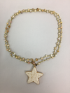 Natural Stone Beaded Star Necklace - Classy Cozy Cool - Fashion Jewelry -  Carol Su - Beaded, BoHo, Jewelry, made in usa, Natural Stone, Necklace, Spring, Star, Summer